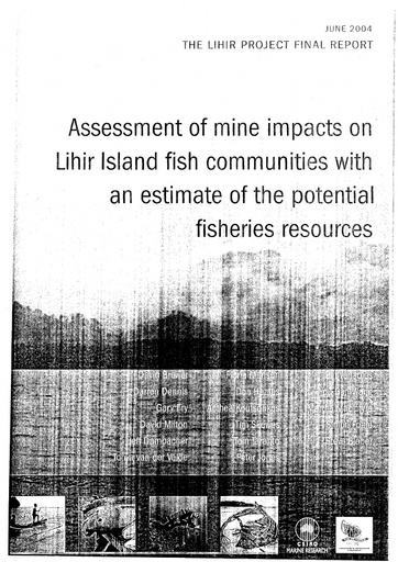 CSIRO Report    Potential Fishing Resource Executive summary